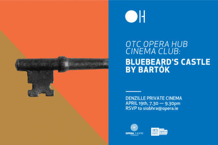 A private screening of Bartók's Bluebeard's Caste at a secret cinema in D2 19 April 7:30pm