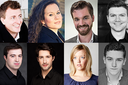 Introducing the cast of Acis and Galatea