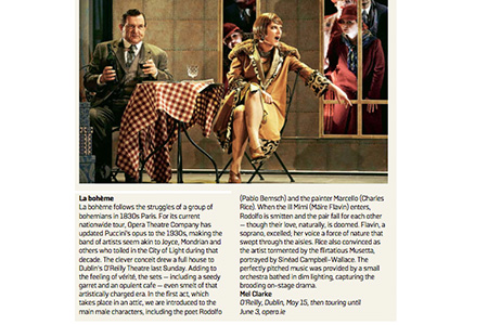 SUNDAY TIMES REVIEW